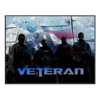 Thank You Veterans Day Postcard