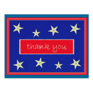 Thank You  ... Veterans Day Postcard
