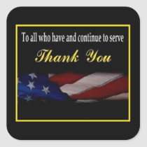 Thank You Veterans Day Sticker