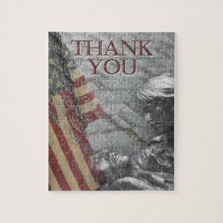 Thank You Veterans Jigsaw Puzzle