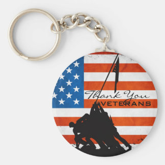 Thank You Veterans Key Chains