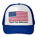 Thank You Veterans! Mesh Hat