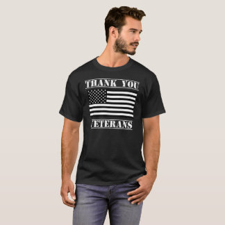 Thank You Veterans Patriotic Veterans Day Shirt