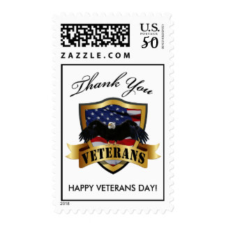 Thank You Veterans! Postage