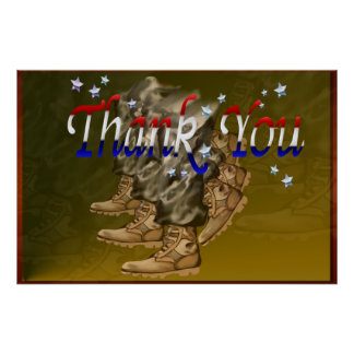 Thank You Veterans-Posters Poster