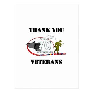 Thank you veterans - Thank you veterans Postcard