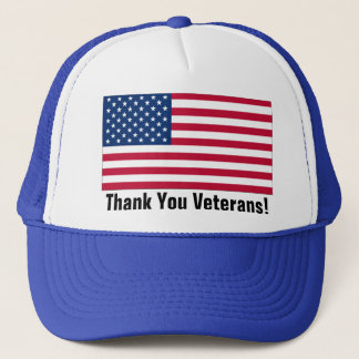 Thank You Veterans! Trucker Hat
