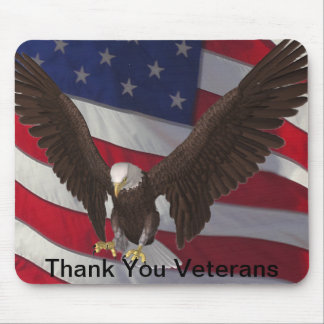 Thank You Vets Mouse Pad