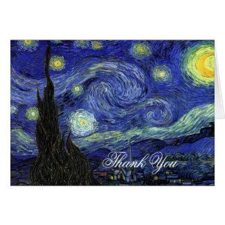 Thank you. Vincent van Gogh, Starry Night Card