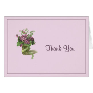 Thank You Violets Cards