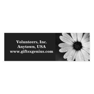 """Thank You"" Volunteer Appreciation Gift Mini Business Card"