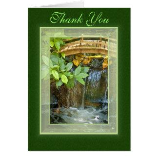 Thank You Waterfall Card