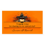 Thank You Wedding Cards - Halloween Love Double-Sided Standard Business Cards (Pack Of 100)