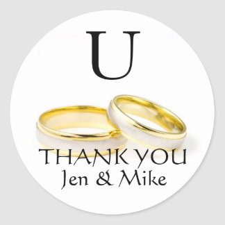 gold wedding rings stickers zazzle