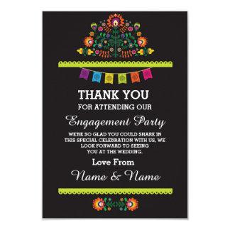 Thank You Wedding Fiesta Mexican Card