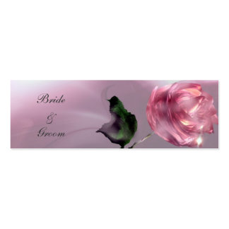 Thank You Wedding Gift Tag Double-Sided Mini Business Cards (Pack Of 20)