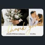 "thank you,wedding photo collage,custom magnet<br><div class=""desc"">thank you, wedding photo collage, custom</div>"