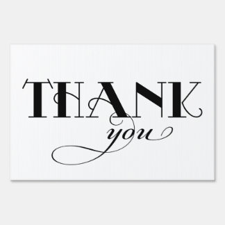 Thank You | Wedding Portrait Sign