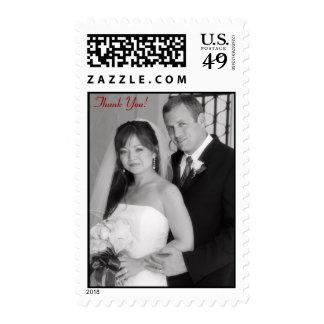 Thank You, Wedding Stamp