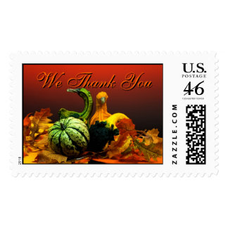Thank You Wedding Postage Stamp