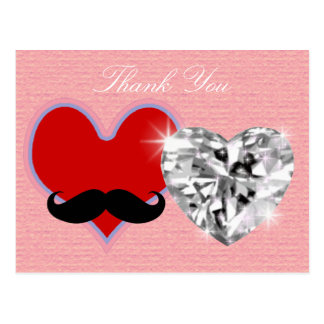 thank you - wedding postcards