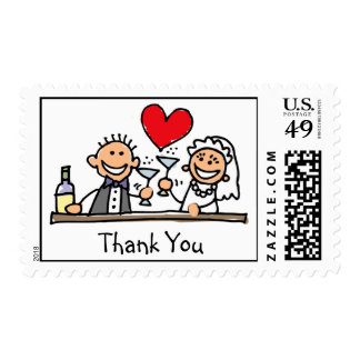 Thank You wedding stamps