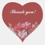 thank you wedding sticker