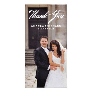 THANK YOU | WEDDING THANK YOU PHOTO PHOTO CARD