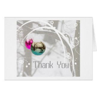 Thank You Winter Wonderland Card