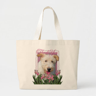 Thank You - Wire Fox Terrier - Hailey Jumbo Tote Bag