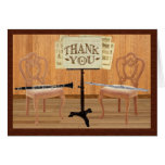 Thank You with Flute and Clarinet Cards