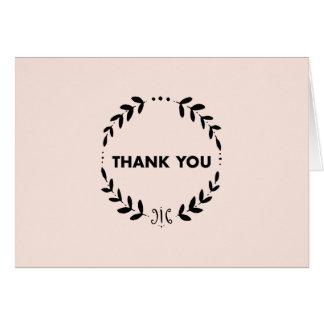 Thank You Wreath Card