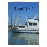Thank You Yacht greeting card