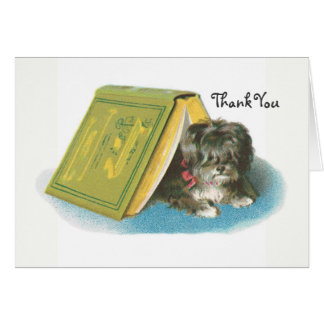 Thank You - Yorkshire Terrier - Yorkie - Book Card