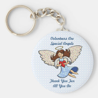 Thank You! You're An Angel! Keychain