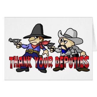 Thank Your Deputies Card