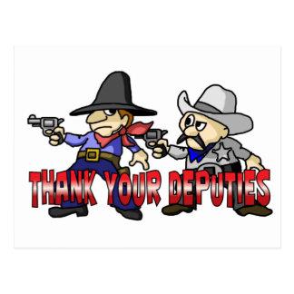 Thank Your Deputies Postcard