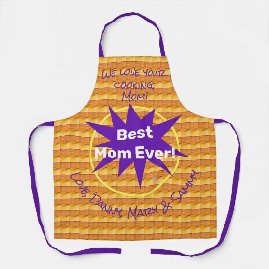 Thank Your Home Chef Personalized  Apron