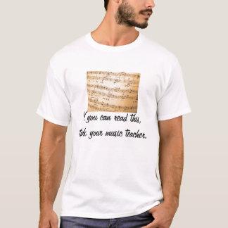 Thank your music teacher T-Shirt