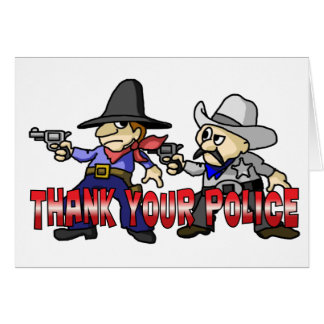 Thank Your Police Card