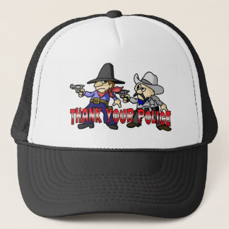 Thank Your Police Trucker Hat