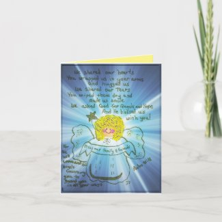 Thankful Angel Thank You Card