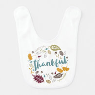 Thankful Baby Bib