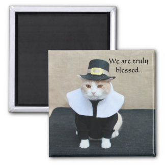 Thankful Bubba 2 Inch Square Magnet