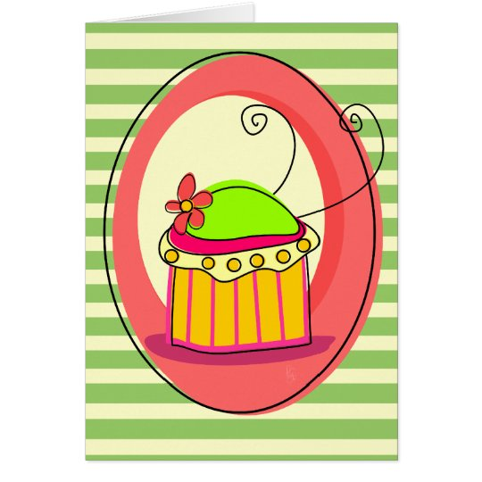 Thankful Cupcake Card