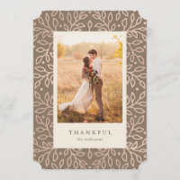 Thankful Fall Photo Card
