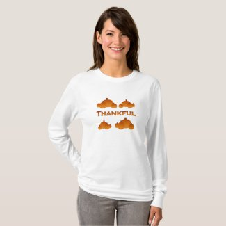 Thankful Fall Pumpkins T-Shirt