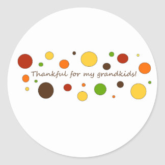 Thankful for my grandkids stickers