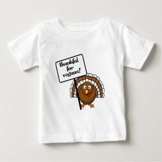 Thankful for vegans! baby T-Shirt