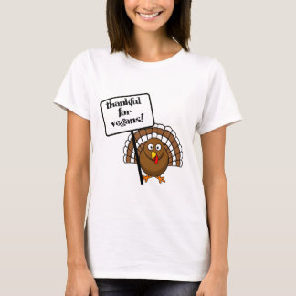 Thankful for vegans! T-Shirt